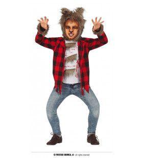 Weerwolf In De Nacht Kind Kostuum