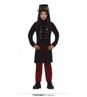 Gotische Steam Punker Kind Kostuum