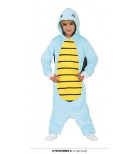 Slomo De Blauwe Schildpad Kind Kostuum