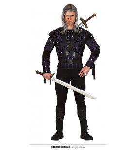 Monsterjager Heks Geralt Van Rivia Man Kostuum