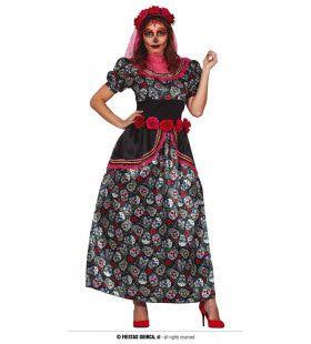 Catrina Day Of The Dead Inferi Mortalis Vrouw Kostuum