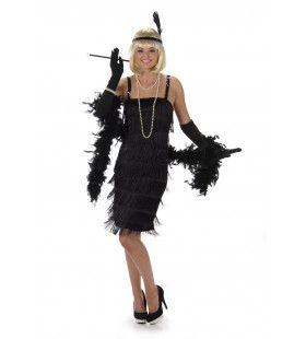 Flegmatieke Flapper Jaren 20 Vrouw Kostuum