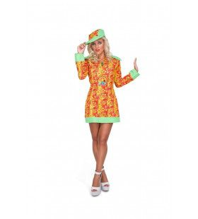 Fleurige Bloemenjurk Hippie Vrouw