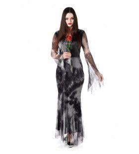 Behekste Vampier Bloody Mary Vrouw Kostuum