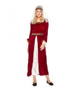 Bernardine Van Bourgondie Middeleeuwse Gravin Vrouw Kostuum