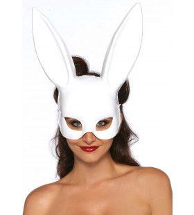 Bondage Bunny Oren Masker Wit