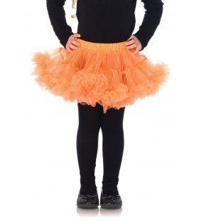 Meisjes Petticoat Oranje