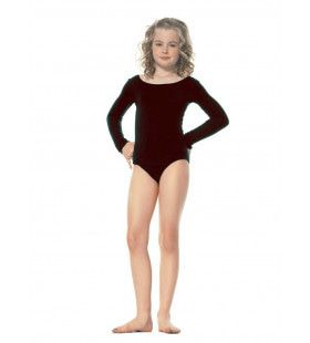 Meisjes Bodysuit Zwart Kostuum