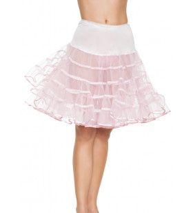 Medium Lange Petticoat Lichtroze