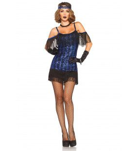 Roaring 20s Glamour Chick Jurk Vrouw