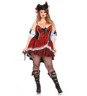 Shapewear Royale Pirate Mw Rolly (Plus Size) Vrouw Kostuum