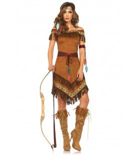 Pijlsnelle Gazelle Indiaan Vrouw Kostuum