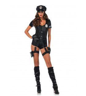Zo Zo Meneertje Politie Agente Vrouw Kostuum