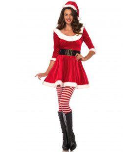 Santas Cadeautje Vrouw Kostuum