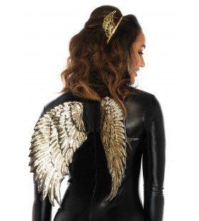 Vleugels Engel Met Gouden Pailletten
