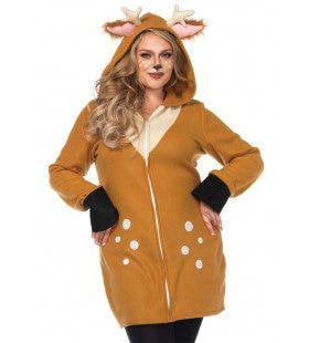 Bambi Ree Bruin Hert Vrouw Kostuum