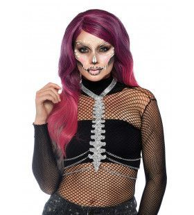 Glitter Bot Body Harnas Halloween