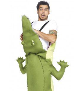 Everglades Alligator Hap Slik Weg Krokodil Kostuum