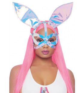 Holografische Robot Playboy Bunny Masker