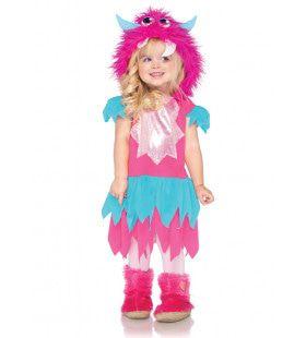 Lief Monster Meisje Kostuum