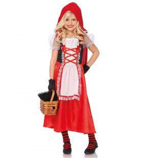 Meisjes Sprookjesachtige Roodkapjes Jurk