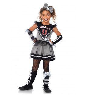 Horror Cheerleader Jurk Halloween Meisje