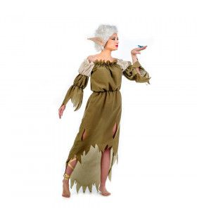 Elfin Van Het Middenrijk Shirleley Vrouw Kostuum