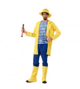 Harry Hengel Sport Visser Man Kostuum