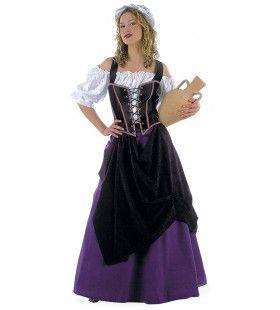 Klassiek Horeca Herbergier Lutetia Vrouw Kostuum