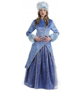 Russische Wolga Kozak Prinses Vrouw Kostuum