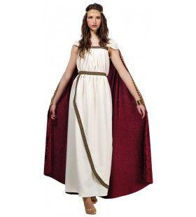 Schone Trojaanse Prinses Helena Vrouw Kostuum