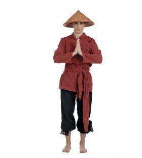 Boer Vietnamese Rijstvelden Stef An Man Kostuum