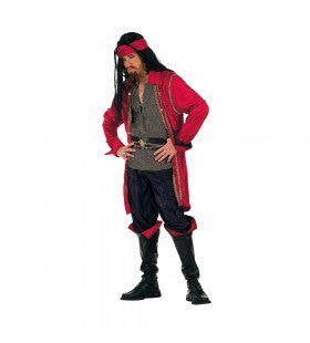Ontembare Piraat Middellandse Zee Man Kostuum