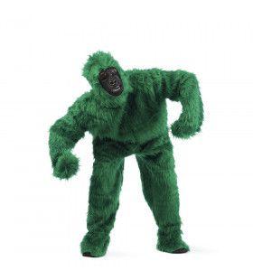 Groene Bos Gorilla Man Kostuum