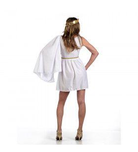 Diana Romeinse Godin Van De Jacht Vrouw Kostuum