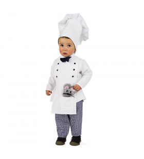 Ratatouille Kok Vijf Sterren Restaurant Kind Kostuum