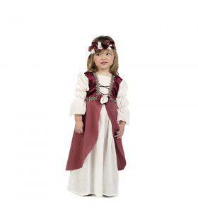 Roze Klein Kasteelmeisje Slot Haarzuilens Kostuum