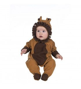 Zachtjes Grommende Leeuw Afrika Kind Kostuum