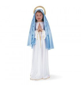 Heilige Maria Moeder Van God Meisje Kostuum