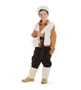 Herder Schaapskudde Veluwse Hei Jongen Kostuum