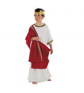 Grootse Romeinse Keizer Caesar Jongen Kostuum