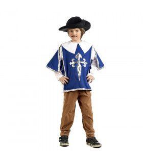 Vechter Voor De Koning Musketier Porthos Jongen Kostuum