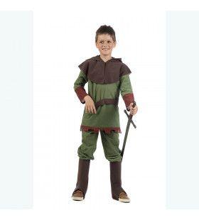 Vrijbuiter Robin Grote Tegenstander Van De Sheriff Jongen Kostuum