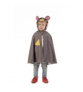 Cape Grote Grijze Kaas Muis Kind Kostuum
