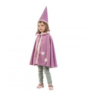 Roze Punthoed Fee Sterre Kind Kostuum