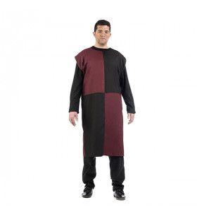 Rode Rappe Ridder Radboud Man Kostuum