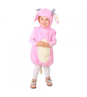 Roze Fantasie Pup Kind Kostuum