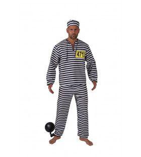 Pief Paf Poef Jij Bent De Boef Gevangenis Man Kostuum