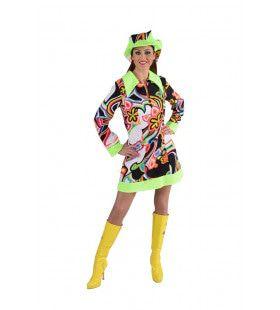 Jaren 60 Brigitte Vrouw Kostuum