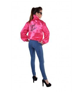 Rock And Roll Jacket Pink Ladies Vrouw